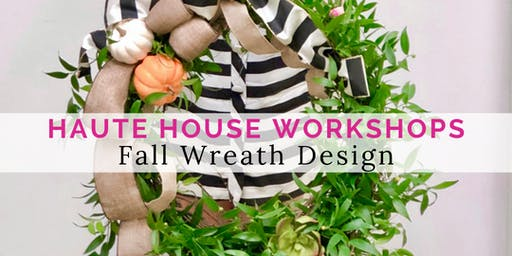 Fall Grapevine Wreath Workshop