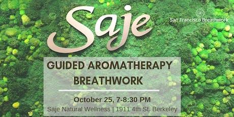 Aromatherapy Breathwork Meditation tickets