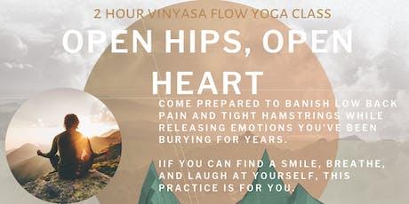 Open Hips, Open Heart tickets