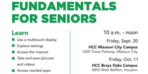 Digital Living Workshops for Senior Citizens (65+)