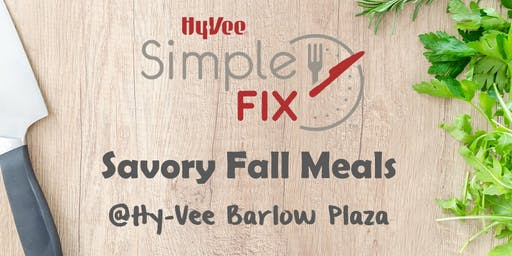 Simple Fix Meal Prep TO GO: Savory Fall Meals