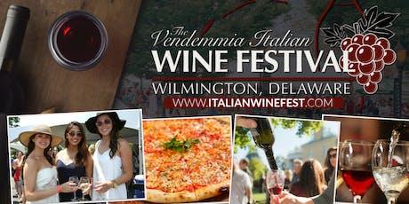 Vendemmia Italian Wine Festival tickets