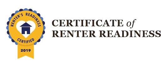 Renter's Readiness Certification| Landlord/Tenant Obligations-December