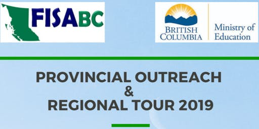 REGIONAL TOUR 2019 - Evening Info Session (Chilliwack)