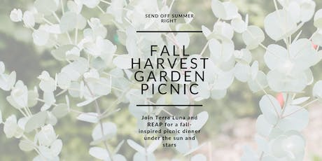 Fall Harvest Garden Picnic tickets