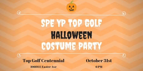 2019 SPE YP Topgolf Halloween Costume Party tickets