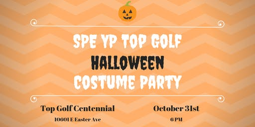2019 SPE YP Topgolf Halloween Costume Party