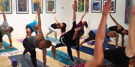 Rise & Shine Yoga with Linda at NuMovement tickets