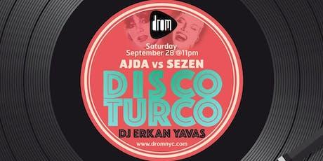 Disco Turco tickets
