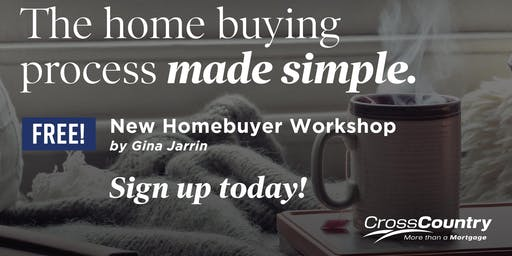 FREE First Time Homebuyer Workshop
