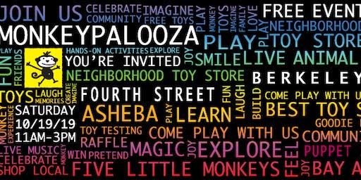 Monkeypalooza on Fourth Street in Berkeley