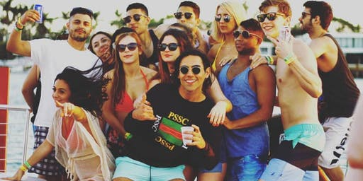MIAMI BOAT PARTY + OPEN BAR + PARTY BUS INCLUDED