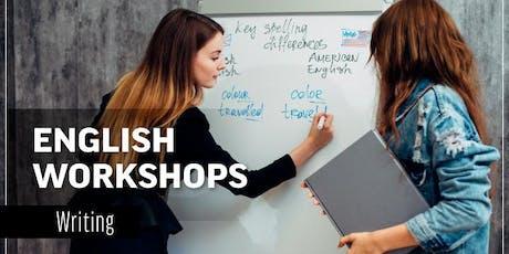 Workshop Writing September 16th-September 21st entradas