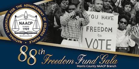 88th  MCNAACP Freedom Fund Gala tickets