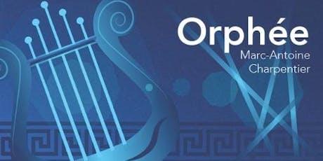 Charpentier's Orphée tickets
