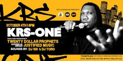 KRS-One, Live in the HD