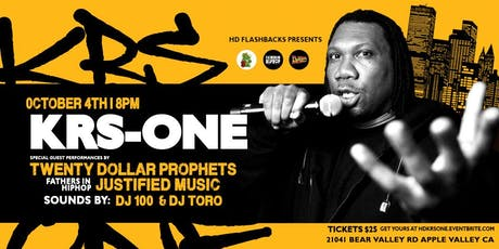 KRS-One, Live in the HD tickets