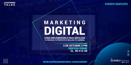 Lightning Talks Marketing Digital entradas