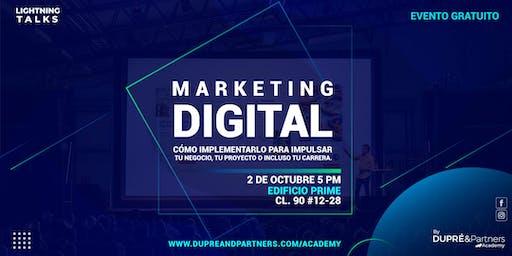 Lightning Talks Marketing Digital