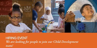 Early Childhood Education Hiring Event