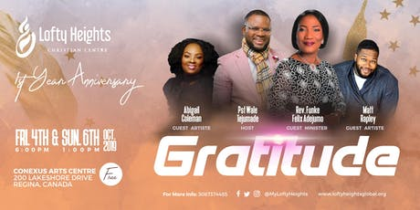 Gratitude - Celebrating God's Faithfulness tickets