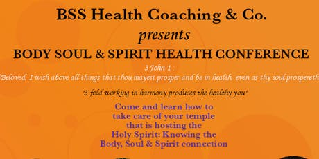 Body Soul & Spirit Health Conference  tickets