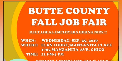 Butte County Job Fair!