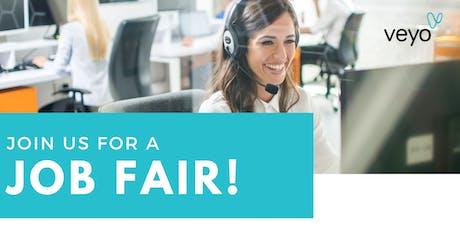 Veyo Job Fair tickets