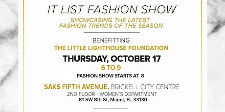 LLF Fashion Show at Saks Fifth Avenue 2019 tickets