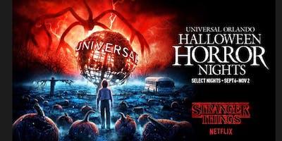 Universal  Orlando Halloween Horror Night  Bus Trip