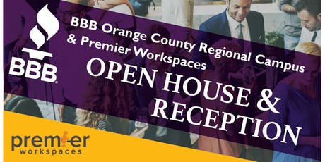 BBB Open House and Reception tickets