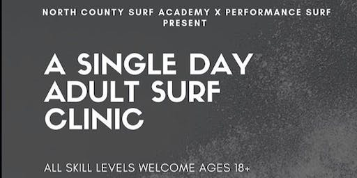 Single Day Adult Surf Clinic