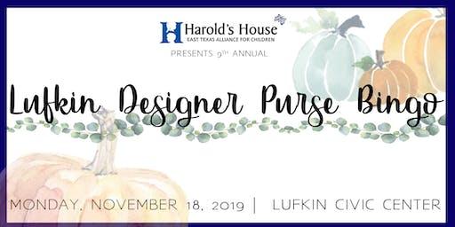 Lufkin Designer Purse Bingo 2019