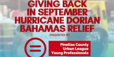 Giving Back in September: Hurricane Dorian Disaster Relief for the Bahamas