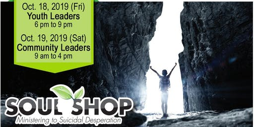 Soul Shop Hawai'i 2019 Webinars: Ministering to Suicidal Desperation