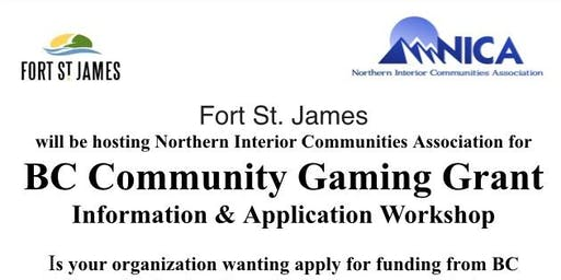 Gaming Grant Workshop