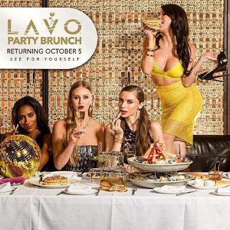 LAVO Party Brunch FREE OPEN BAR & ENTRY FOR LADIES @ PALAZZO LAS VEGAS