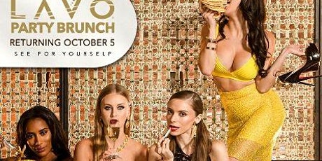 LAVO Party Brunch FREE OPEN BAR & ENTRY FOR LADIES @ PALAZZO LAS VEGAS  tickets