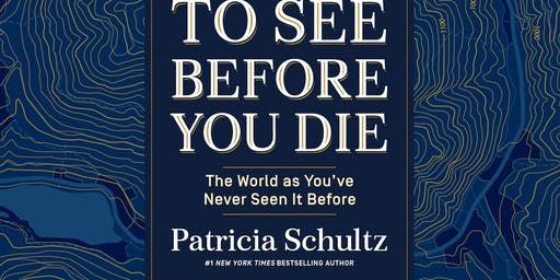 Authors Group Presents Patricia Schultz, 1000  Places To See Before You Die