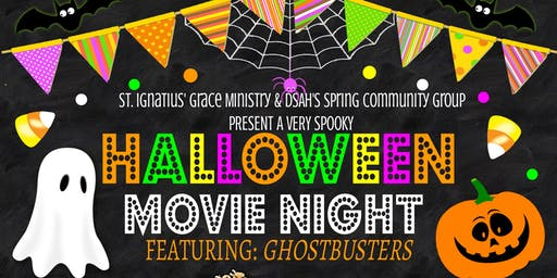 DSAH Spring Community Group Halloween Movie Night: Ghostbusters