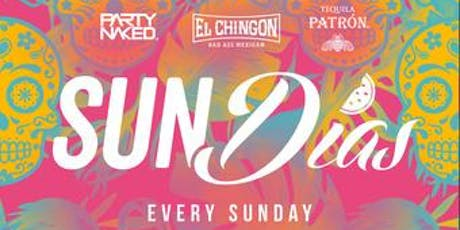 Sundais Dayparty at El Chingon Free Guestlist - 10/06/2019 tickets