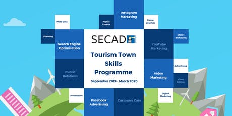 SECAD Tourism Towns Skills Programme - Instagram Marketing Programme 1 tickets