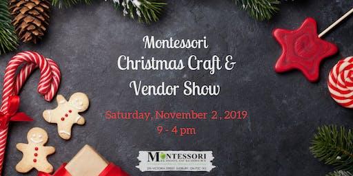 Montessori Christmas Craft & Vendor Show