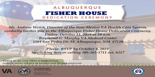 Albuquerque Fisher House Grand Opening Dedication Ceremony
