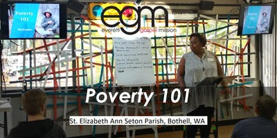 EGM Poverty 101 @ St. Elizabeth Ann Seton Parish