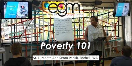 EGM Poverty 101 @ St. Elizabeth Ann Seton Parish tickets