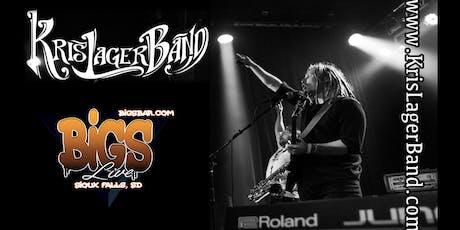 KRIS LAGER BAND at Bigs Bar Sioux Falls tickets