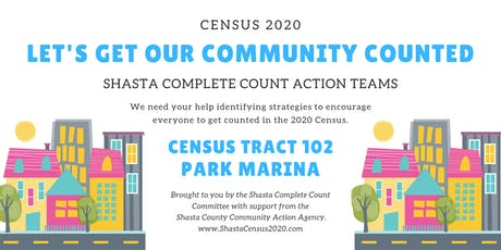 Shasta Complete Count Action Teams - Park Marina tickets