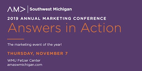 AMA Southwest Michigan 2019 Annual Conference  tickets