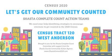 Shasta Complete Count Action Teams - Anderson tickets